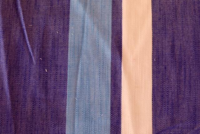 It is horizontal stripe-100% cotton