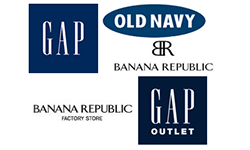 Gap , Old Navy,Banana Republic And Gap Outlet